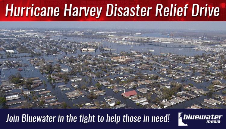Hurricane Harvey Disaster Relief Drive - Bluewater Media Studios